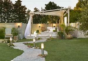Prix Ardoise Deco Jardin : jardin idee deco eolienne deco jardin horenove ~ Premium-room.com Idées de Décoration