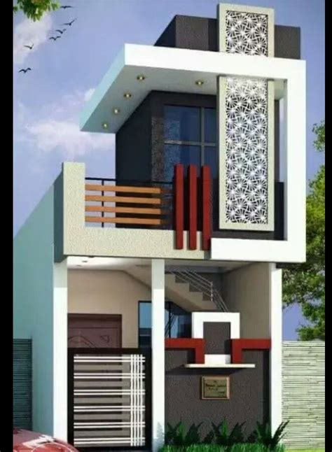 elevation designs modern house front view single floor