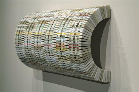 split pencil  cassette sculptures  david poppie