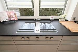 Granit Geflammt Und Gebürstet : k che in nero assoluto z geflammt geb rstet ~ Markanthonyermac.com Haus und Dekorationen