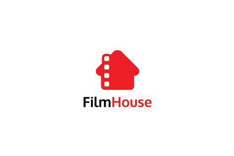 film house logo design logo cowboy