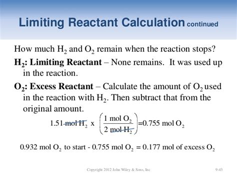 Limiting Reactant And Percent Yield Ubd Lesson Plan