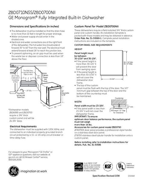 dishwasher users guides dishwasher page