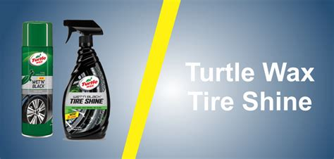turtle wax tire shine review