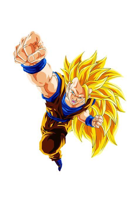 Mi Primer Render Goku Ssj3 Dragon Ball Z Comunidad