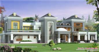 luxurious home plans luxury house plan with photo home kerala plans
