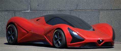 Veemenza Concept Car Is A Design Study Inspired By Alfa