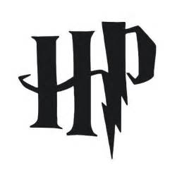 Silhouette Harry Potter Symbols