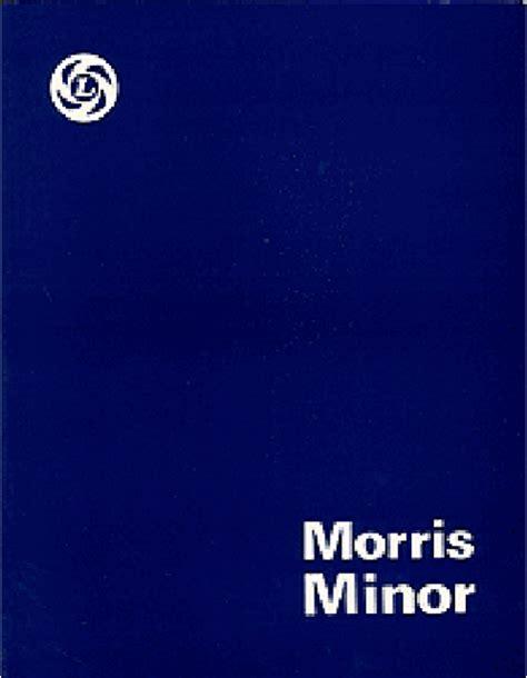 Morris Minor Series Traveller Official Repair