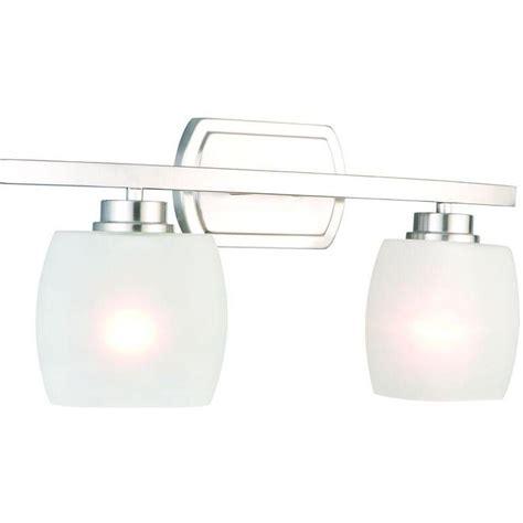 hton bay vanity light hton bay tamworth 2 light brushed nickel vanity light