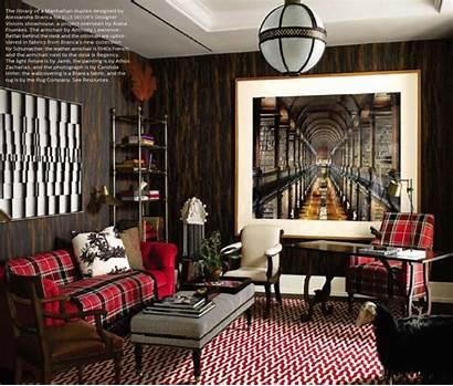 Living Decor Elle Rooms December Office 1920