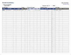 Free Asset Tracking Template For Excel By Vertex42