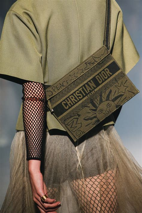 dior springsummer  runway bag collection spotted