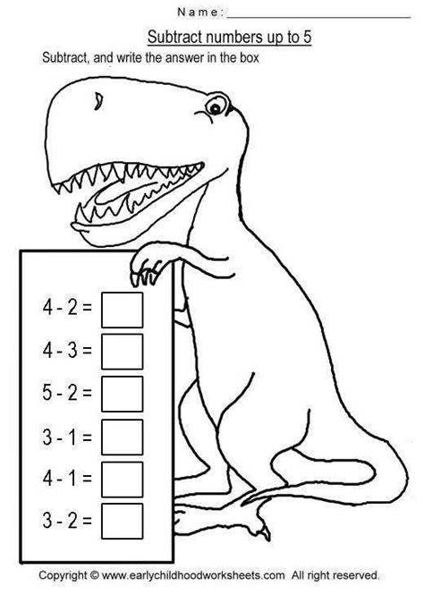 Simple Subtraction Worksheets Homeschooldressagecom