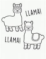 Llama Coloring Printable Llamas Unicorn Template Sheets Partywithunicorns Valentine Fortnite Printables Fiesta Pop Craft Mandala Minecraft Valentines Niobrarachalk Freebie Youngandtae sketch template