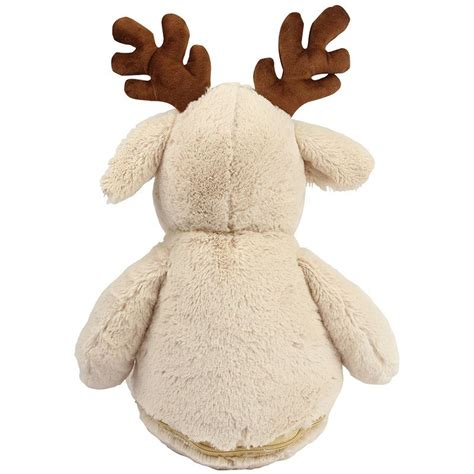 personalised reindeer zippie teddy withcongratulations