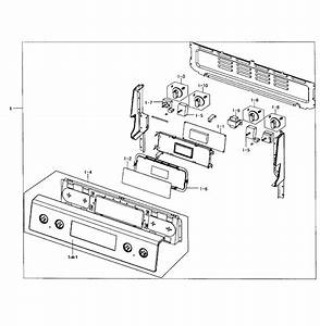 Ccontrol Panel Diagram  U0026 Parts List For Model