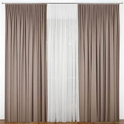 Curtain Door Models Architectural Cgtrader Interior