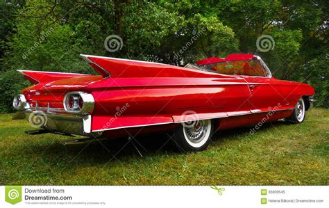 Cadillac Classic American Vintage Cars Editorial Image