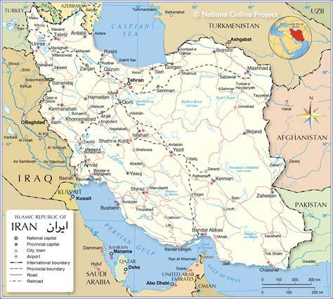 map  iran mapofmap