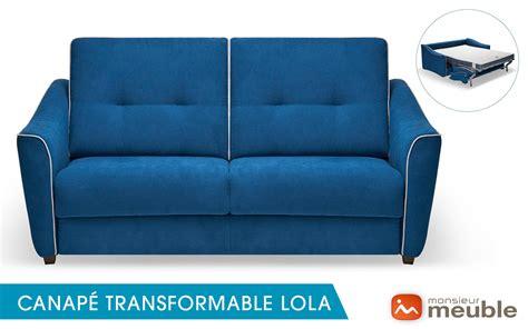 canape convertible monsieur meuble meubles design salons canap 233 s de qualit 233 monsieur meuble haute savoie