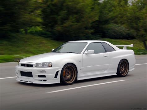 nissan skyline sports cars nissan skyline gtr r34 wallpaper