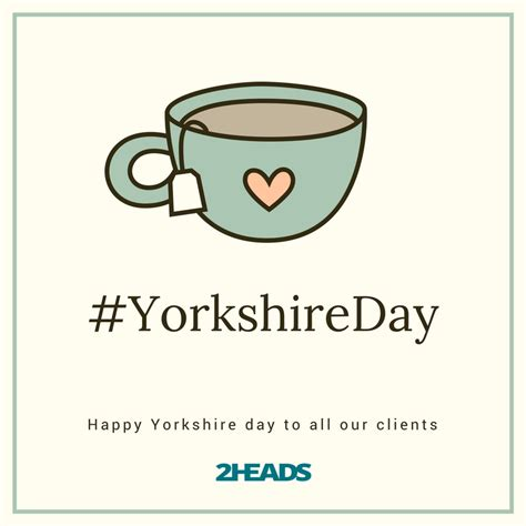 Happy Yorkshire Day to all our clients at 2 Heads Design ...