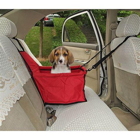 siege auto chien toile panier imperméable protection siège arrière auto