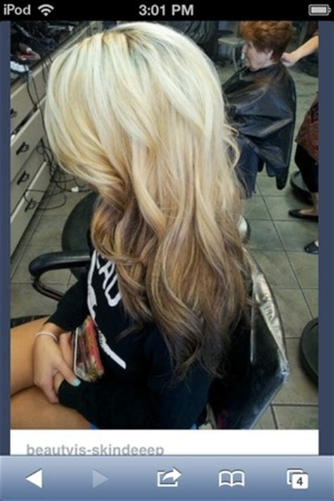 reverse ombre blonde hair beautylish