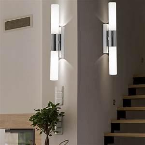 Lampe Für Dusche : wand lampe badezimmer bad leuchte beleuchtung licht ip44 spot lampe dusche neu ebay ~ Frokenaadalensverden.com Haus und Dekorationen