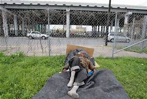 Parker says city has cut downtown homeless numbers in half ...