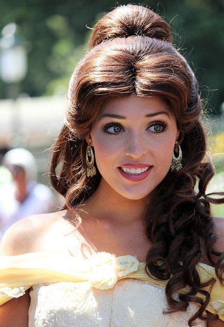 belle hairstyle ideas  pinterest short