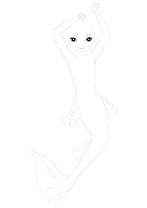 Topmodel Biz Kleurplaat by Mermaid Waar Gaat Het Topmodel