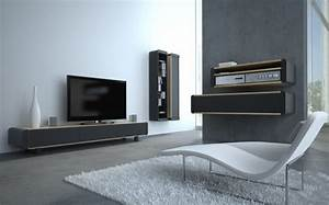 Meuble Bas Salon : meuble tv design meubles bas accueil design et mobilier ~ Teatrodelosmanantiales.com Idées de Décoration