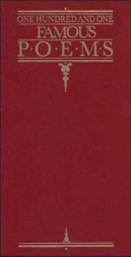 23 one hundred and one poems edited by roy cook 1 year 100 books
