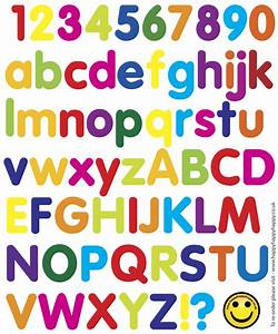 Letters and numbers levelings for Abc numbers and letters