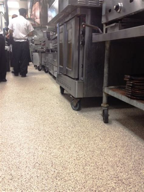 Epoxy Floor Portfolio: Restaurants & Commercial Kitchens