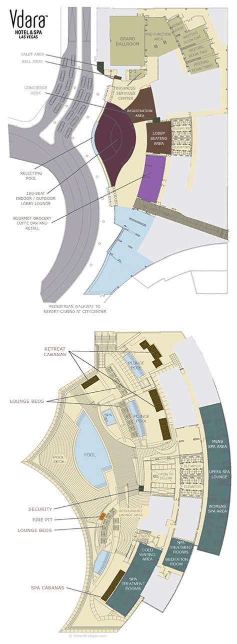 vdara casino property map floor plans las vegas