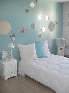 decoration and roses on pinterest With chambre ado fille bleu