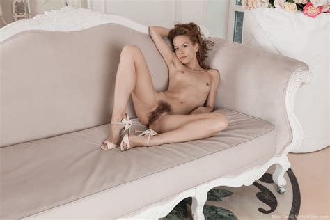 Mimi Lea Strips Naked Laying On Her Sofa