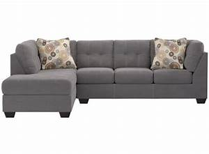 Pitkin sectional and pillows by ashley furniture smith for Pitkin sectional sofa