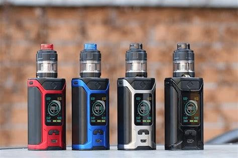 wismec ravage  review test results   vaping