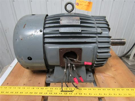 Electric Motor Shaft by Delco 2u2100 25hp 3ph 230 460v 1755rpm 1 7 8 Quot Shaft