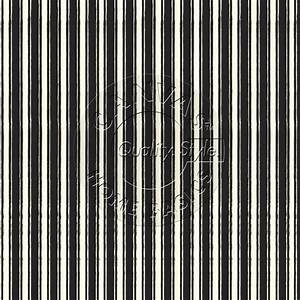 Black and Ivory French Linen Stripe Paper – Canvas Corp Brands