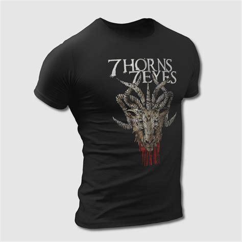horns  eyes  shirt convalescence tee shirt metal