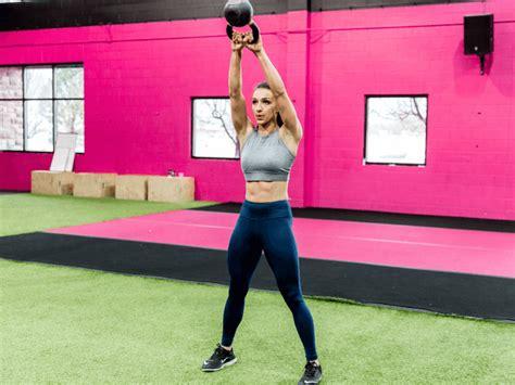 kettlebell workouts workout exercises fitness kettlebells idealfit woman better than