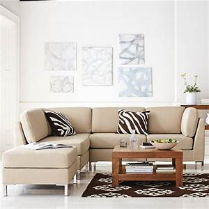 Sectional sofas for small spaces for Armless sectional sofas for small spaces