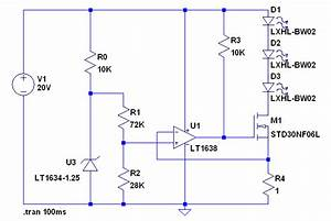 Led - Make Adjustable Mosfet Constant Current Source