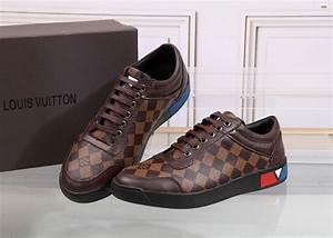 Sneakers Louis Vuitton Homme : chaussures louis vuitton damier homme ~ Nature-et-papiers.com Idées de Décoration