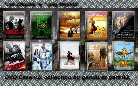 dvd case  collection part   gandiusz  deviantart